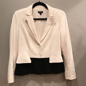 Worth New York Black & Ivory Blazer
